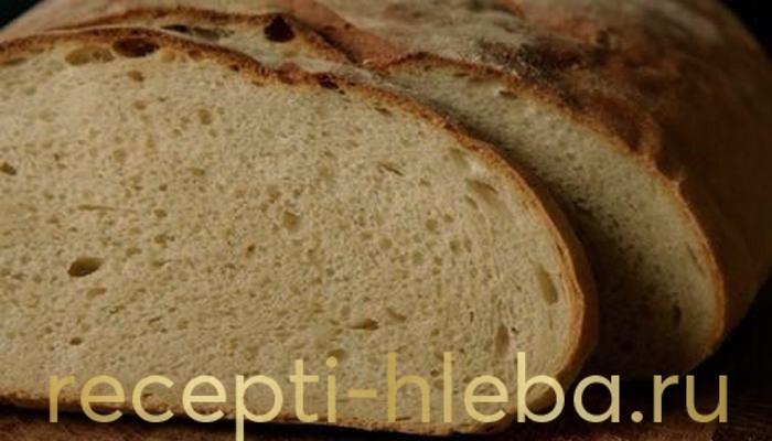 Пшеничный хлеб на дрожжах