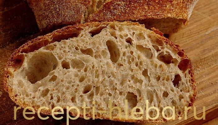 Любимый пшеничный хлеб