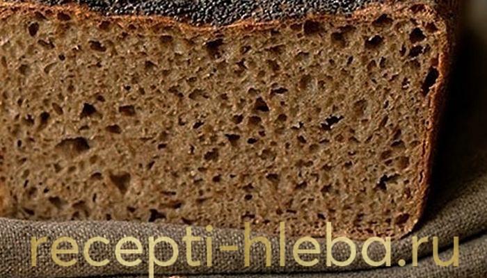 Немецкий ржано-пшеничный хлеб
