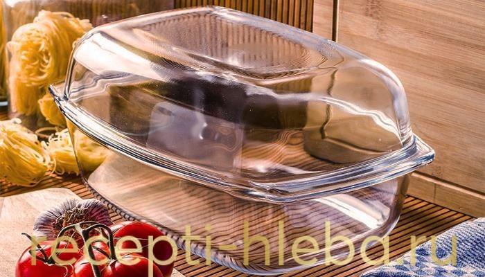 Термостойкая стеклянная посуда